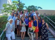 Yaz okulu ziyaretlerinde ortak ders. Joint class at Summer School